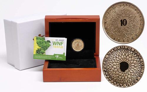 Lieferumfang:Niederlande : 10 Euro 50. Jahre WWF  2011 PP