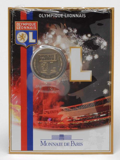 Lieferumfang:Frankreich : 1,5 Euro Olympique Lyonnais - Fußball im Originalblister  2009 Stgl.