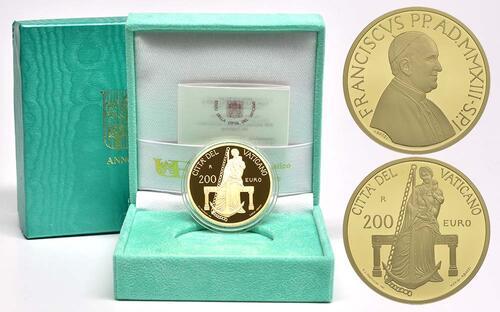Lieferumfang:Vatikan : 200 Euro Die theologischen Tugenden : Die Hoffnung  2013 PP
