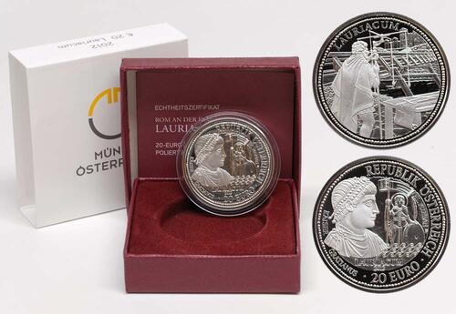 Lieferumfang:Österreich : 20 Euro Lauriacum  2012 PP