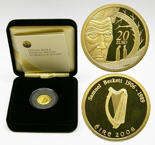 Lieferumfang:Irland : 20 Euro Samuel Beckett  2006 PP 20 Euro Beckett