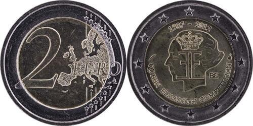 Lieferumfang:Belgien : 2 Euro 75 J. Königin-Elisabeth Internationaler Musik Wettbewerb  2012 bfr