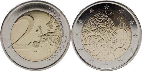 Lieferumfang:Finnland : 2 Euro 150 Jahre Finnische Währung  2010 bfr 2 Euro Finnland 2010