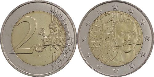 Lieferumfang:Frankreich : 2 Euro Pierre de Coubertin  2013 bfr