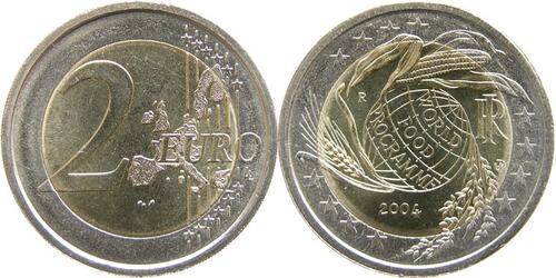 Lieferumfang:Italien : 2 Euro World Food Programme  2004 bfr