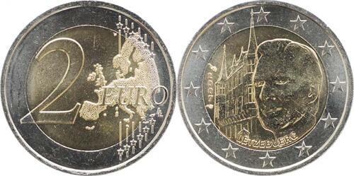 Lieferumfang:Luxemburg : 2 Euro Großherzogliches Palais  2007 bfr 2 Euro Luxemburg 2007