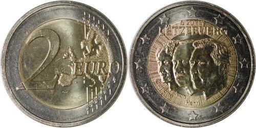 Lieferumfang:Luxemburg : 2 Euro Jean de Luxemburg  2011 bfr