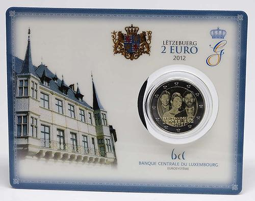 Lieferumfang:Luxemburg : 2 Euro Hochzeit Guillaume und Stephanie  2012 Stgl.