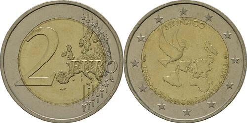 Lieferumfang:Monaco : 2 Euro Uno  2013 bfr