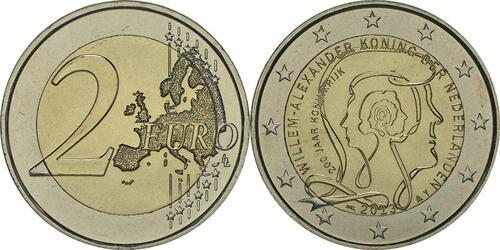 Lieferumfang:Niederlande : 2 Euro Königreich  2013 bfr