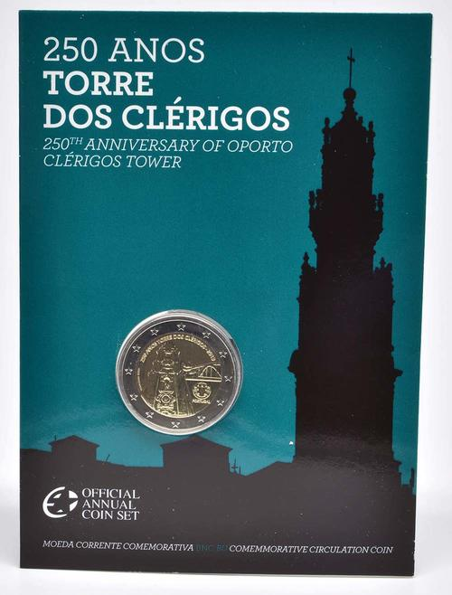 Lieferumfang:Portugal : 2 Euro Torre dos Clérigos  2013 Stgl.