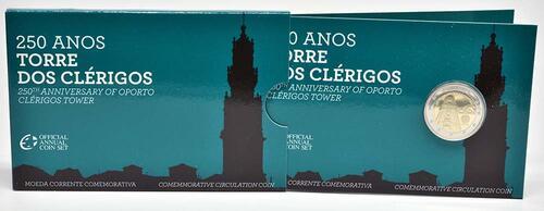 Lieferumfang:Portugal : 2 Euro Torre dos Clérigos  2013 PP