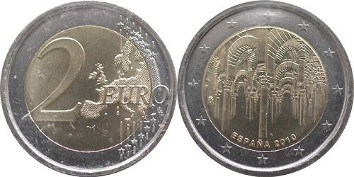 Lieferumfang:Spanien : 2 Euro Cordoba  2010 bfr