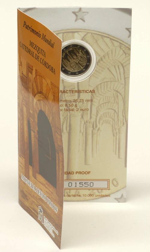Lieferumfang:Spanien : 2 Euro Cordoba  2010 PP 2 Euro Spanien 2010 PP