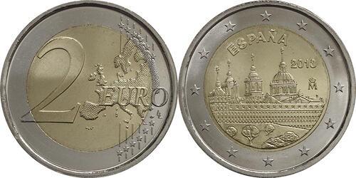 Lieferumfang:Spanien : 2 Euro El Escorial  2013 bfr