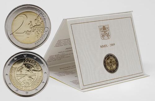 Lieferumfang:Vatikan : 2 Euro Internationales Jahr der Astronomie  2009 Stgl. 2 Euro Vatikan 2009