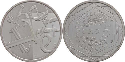 Lieferumfang:Frankreich : 5 Euro Freiheit  2013 Stgl.