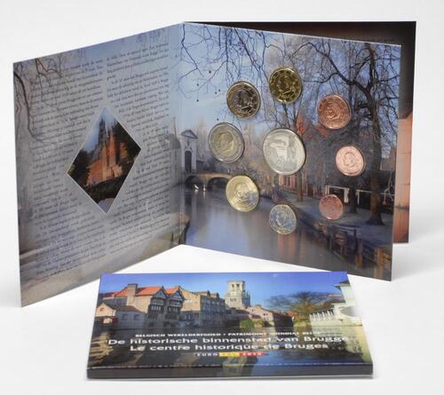 Lieferumfang:Belgien : 3,88 Euro original Kursmünzensatz der belgischen Münze  2010 Stgl. KMS Belgien 2010 Stgl.