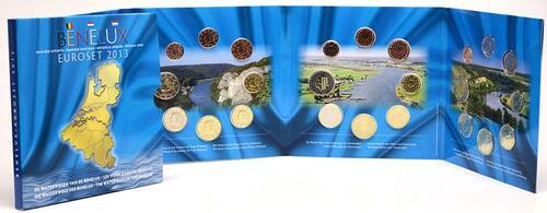 Lieferumfang:Belgien : 11,64 Euro original KMS Benelux, enthält die Euro-Kursmünzen der Länder Belgien, Niederlande, Luxemburg  2013 Stgl. KMS Benelux 2013