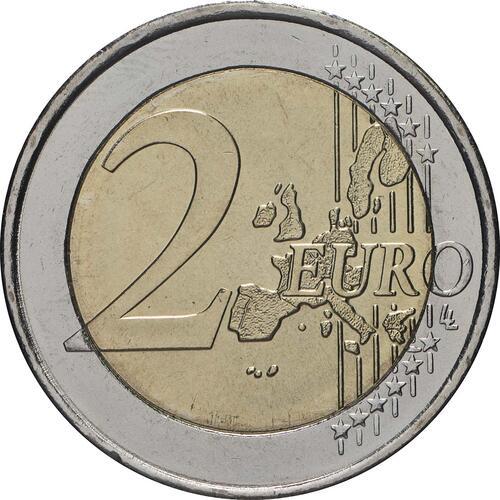 Vorderseite:Griechenland : 2 Euro Olympiade Athen  2004 bfr