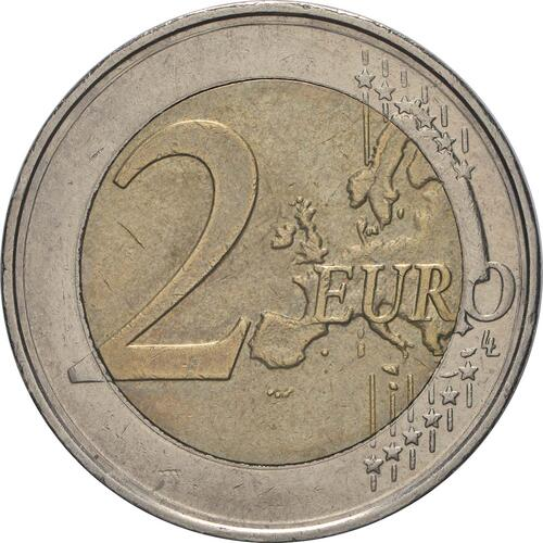 Vorderseite:Belgien : 2 Euro Römische Verträge  2007 bfr