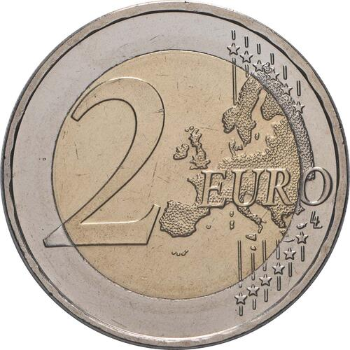 Vorderseite:Deutschland : 2 Euro Römische Verträge  2007 bfr