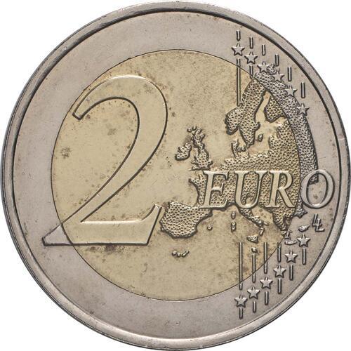 Vorderseite:Frankreich : 2 Euro Römische Verträge  2007 bfr