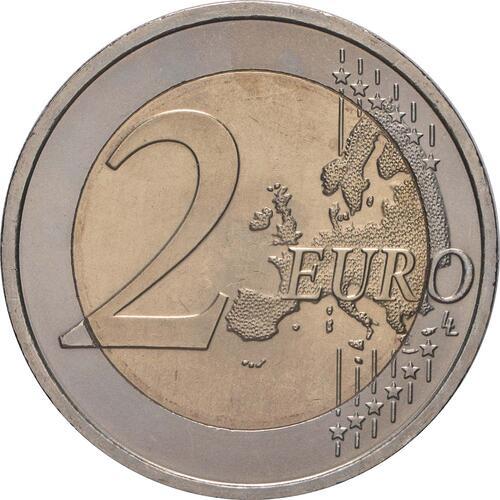 Vorderseite:Österreich : 2 Euro Römische Verträge  2007 bfr