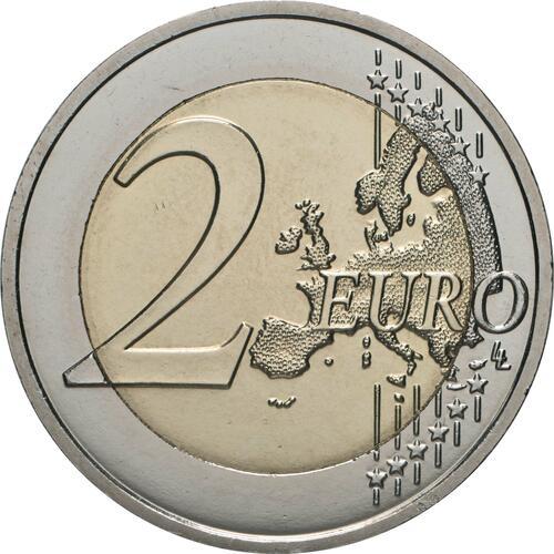 Vorderseite:Monaco : 2 Euro Gracia Patrizia / Grace Kelly  2007 bfr 2 Euro Monaco 2007