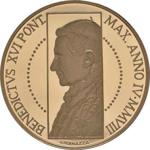Vorderseite:Vatikan : 100 Euro Die Erschaffung des Menschen -selten- 2008 PP 100 Euro Vatikan 2008