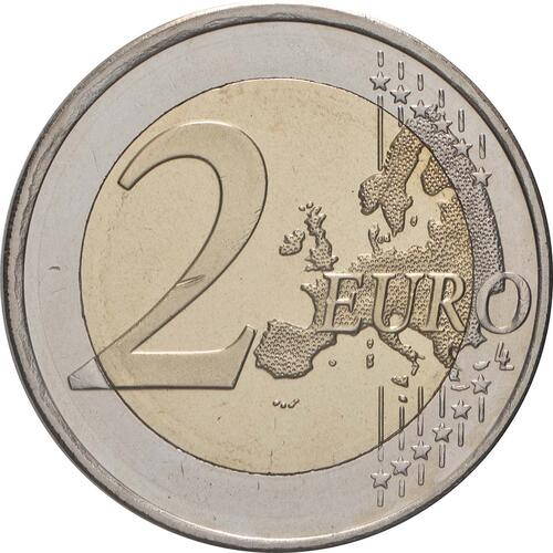 Vorderseite:Finnland : 2 Euro 10 Jahre Euro  2009 bfr