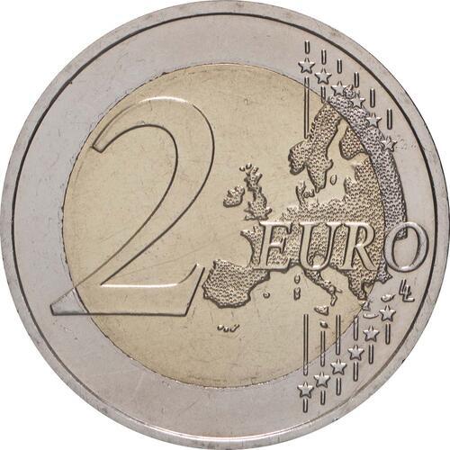Vorderseite:Österreich : 2 Euro 10 Jahre Euro  2009 bfr