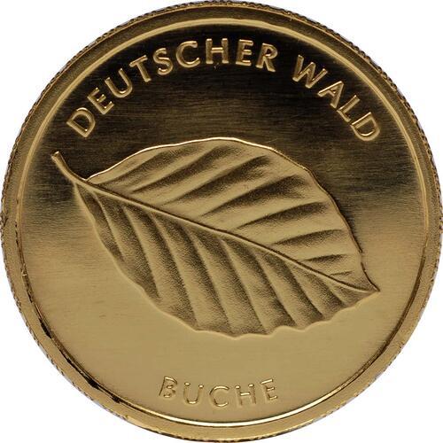 Vorderseite:Deutschland : 20 Euro Buche Komplettsatz 5 Münzen ADFGJ  2011 Stgl.