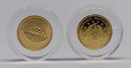 Lieferumfang :Deutschland : 20 Euro Buche Buchstabe unserer Wahl  2011 Stgl.