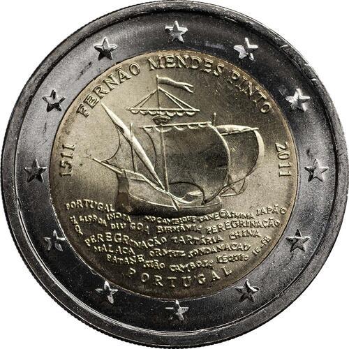 Rückseite:Deutschland : 2 Euro Nordrhein-Westfalen Kölner Dom Komplettsatz im Originalblister 5 x 2 Euro  2011 Stgl.