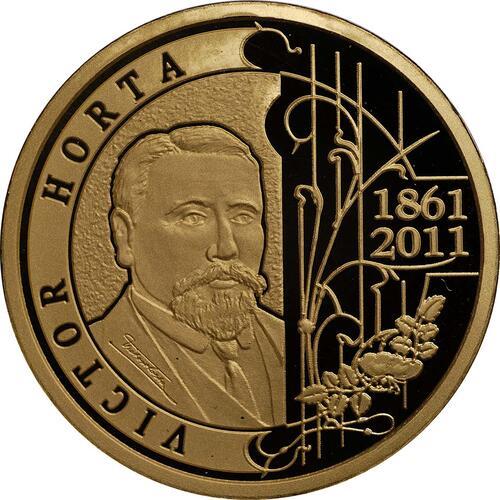 Vorderseite:Belgien : 100 Euro 150. Geburtstag Victor Horta  2011 PP 100 Euro Belgien 2011