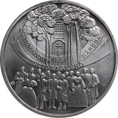 Vorderseite:Slowakei : 10 Euro Memorandum  2011 Stgl.