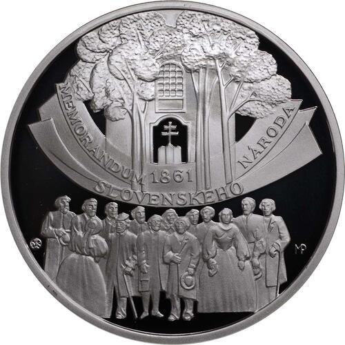 Vorderseite:Slowakei : 10 Euro Memorandum  2011 PP