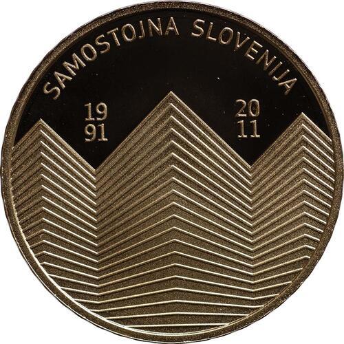 Vorderseite:Slowenien : 100 Euro 20 Jahre Unabhängigkeit Sloweniens  2011 PP