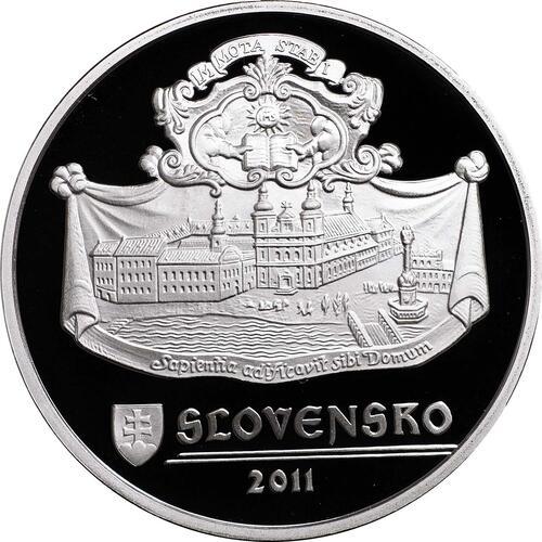 Rückseite:Slowakei : 20 Euro Trnava  2011 PP