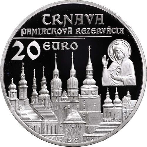 Vorderseite:Slowakei : 20 Euro Trnava  2011 PP