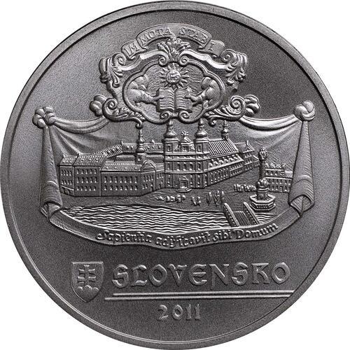 Rückseite:Slowakei : 20 Euro Trnava  2011 Stgl.
