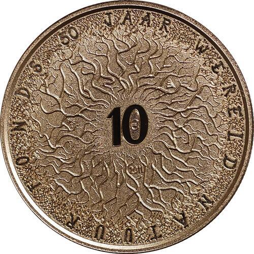 Vorderseite:Niederlande : 10 Euro 50. Jahre WWF  2011 PP
