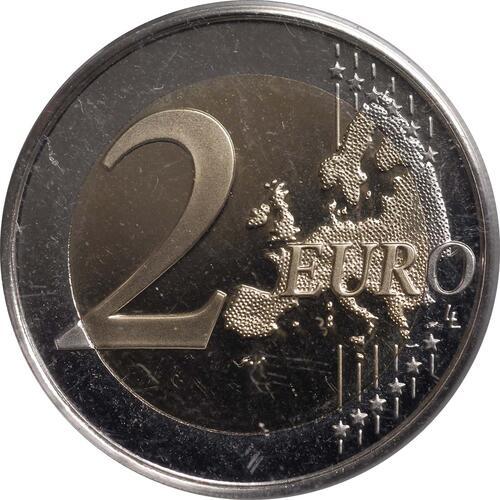 Vorderseite :Spanien : 2 Euro Alhambra Granada  2011 PP