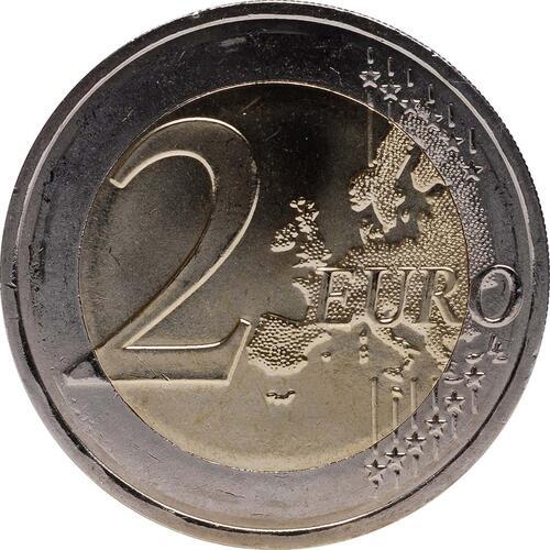 Vorderseite:Frankreich : 2 Euro 10 Jahre Euro Bargeld  2012 bfr