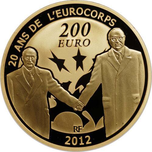Vorderseite:Frankreich : 200 Euro 20 Jahre Eurokorps  2012 PP