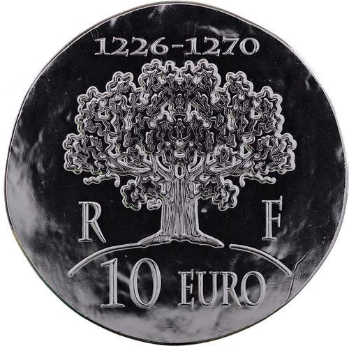 Vorderseite:Frankreich : 10 Euro Saint Louis IX  2012 Stgl.