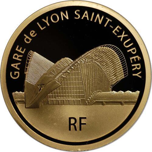 Rückseite:Frankreich : 200 Euro Lyon St. Exupery  2012 PP