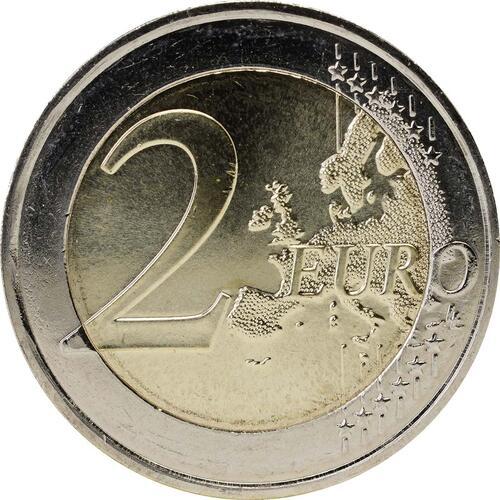 Vorderseite:Frankreich : 2 Euro Abbé Pierre  2012 bfr
