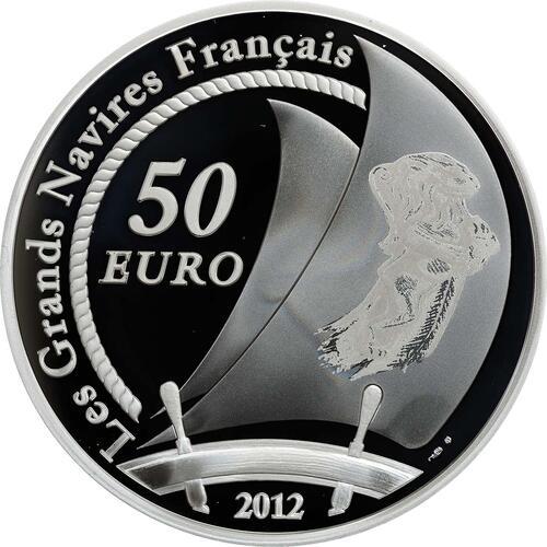 Rückseite:Frankreich : 50 Euro Hermione  2012 PP